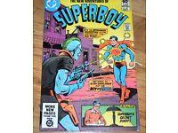 Vintage Superboy comics