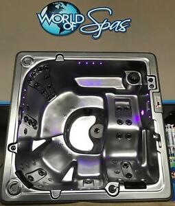 SPICE UP YOUR BACKYARD SPACE WITH A NEW HOT TUB OR SWIM SPA FROM WORLD OF SPAS!!