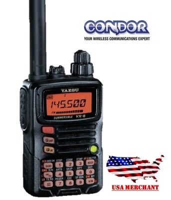 YAESU VX-6R Handheld Receiver 3 band Transmitter VX-6R   FM.UHF and VHF for sale  Miami