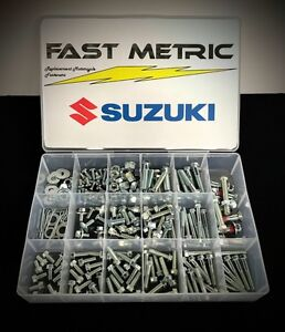 303pc Bolt Kit Suzuki RM 60 65 80 85 125 250 plastic engine frame fender body