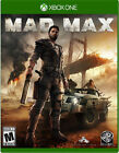 Mad Max Microsoft Xbox One Video Games