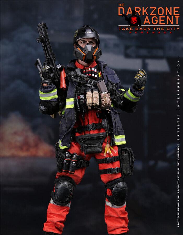 1//6 VTS Darkzone Agent Renegade Pistol AK Ammo Holder *TOY*
