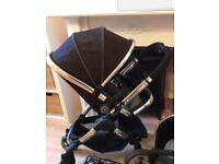 Icandy jack black stroller/ pushchair