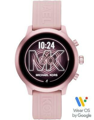 Michael Kors Gen 4 MKGO Touchscreen Pink Heart Rate GPS 43mm SmartWatch MKT5070