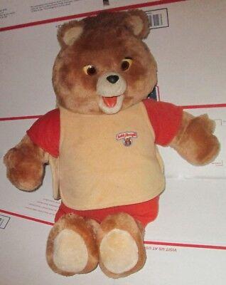 Vintage 1985 WOW Worlds of Wonder TEDDY RUXPIN talking bear, NOT working