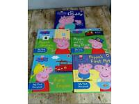 Peppa pig hardback books £25 worth