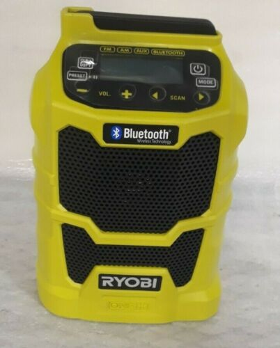 RYOBI P742 Wireless Radio Bluetooth 18V  USB Charging Outlets