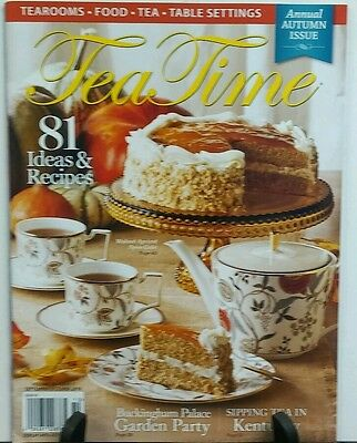 Tea Time September October 2016 Autumn Issue 81 Ideas & Recipes  FREE SHIPPING](Fall Ideas)