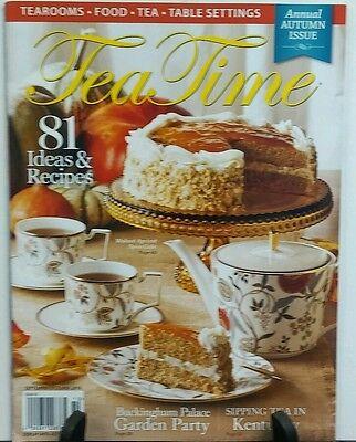 Tea Time September October 2016 Autumn Issue 81 Ideas & Recipes  FREE SHIPPING](Fall Ideas)