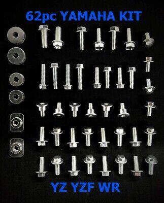 Usado, 62pc BOLT KIT FOR PLASTICS YAMAHA YZ/YZF/WR  80 85 125 250 250F 400 450 450F comprar usado  Enviando para Brazil