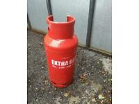 Propane gas bottle 18 kg full never used collection only please from urmston manchester near the Tra