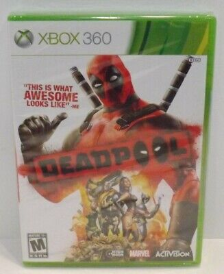 FACTORY SEALED Deadpool (Microsoft Xbox One, 2015)