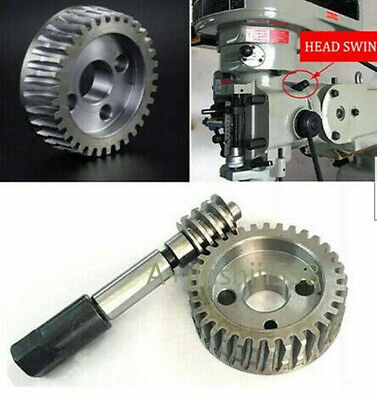 Set Bridgeport Milling Machine Parts -adjustable Worm Turbine Gear Replacement