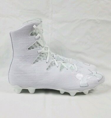 405fabd96188 Under Armour Highlight MC Football Lacrosse Cleats Men Sz 8.5 White  1297358-100. $. 48.97. Buy It Now. Free Shipping