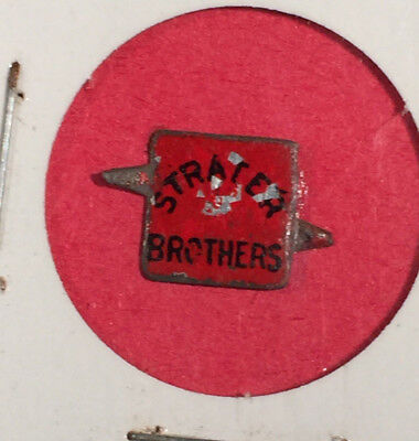 Vintage Strater Brothers Tobacco Tag