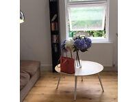 IKEA DVD book CD stand bookshelf dark brown wood