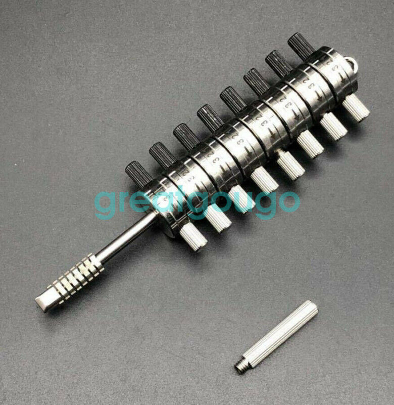 HUK 8 Cylinder Reader Car Ford Jaguar Automotive Lock Tools