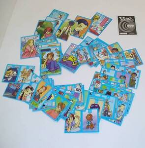 LOTTO-68-FIGURINE-STICKERS-PANINI-DISNEY-WITCH-2003-POCKET-ALBUM-LOVE-BOOK-BLUE