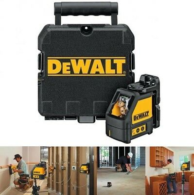 Brand New Dewalt Dw088k Self-leveling Line Laser Horizontal And Vertical Lines