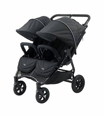 Valco 2016 NEO Twin Stroller in Night (Black Lightning) Brand New!! Double for sale  Towson