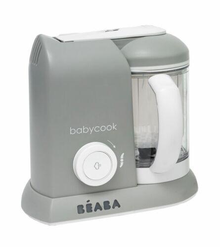 BEABA Babycook 4 in 1 Steam Cooker & Blender in Cloud New!