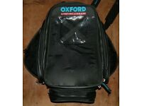 Oxford lifetime magnetic luggage (tank bag) and buffalo expanding panniers