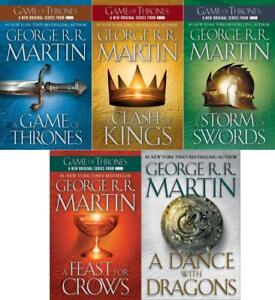 George R. R. Martin - Game of Thrones Book Set Paperback