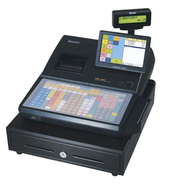 Samsung SAM4s SPS-530FT POS Cash Register NIB.