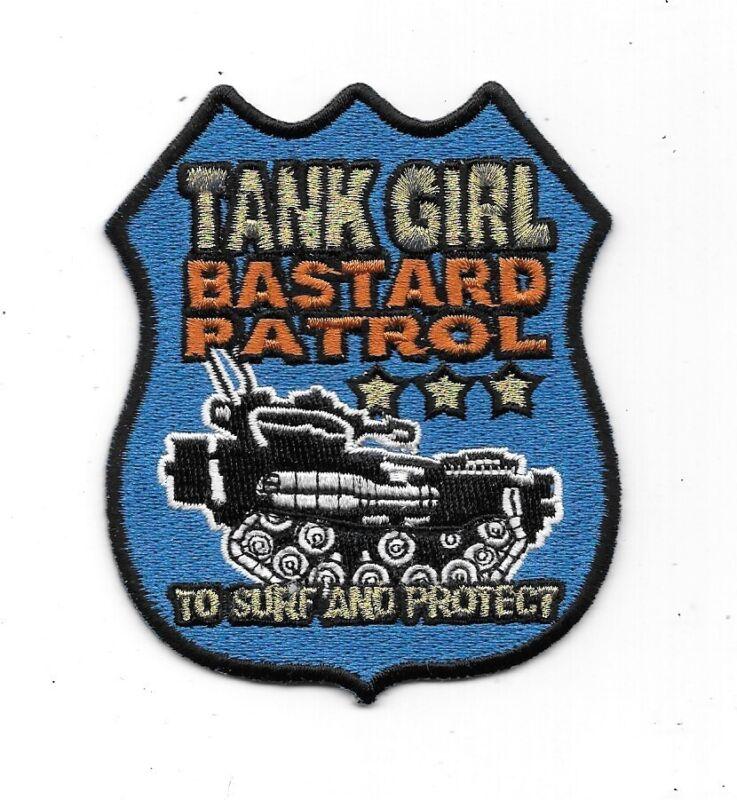 Tank Girl Bastard Patrol Logo Embroidered Patch British Comic Book NEW UNUSED