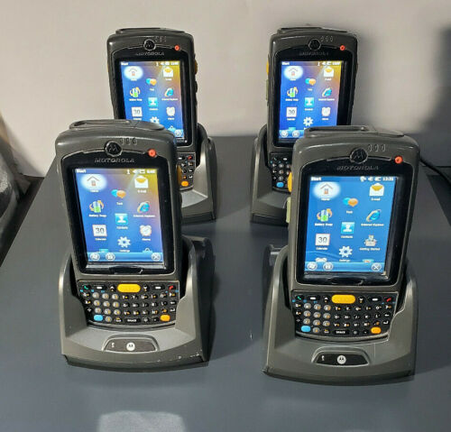 (4) Motorola Symbol MC75A0-P40SWQQA9WR Mobile Computer/Barcode Scanner/WIFI/PDA