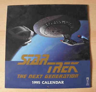 Star Trek: The Next Generation  Kalender von 1995 für Sammler – Poster
