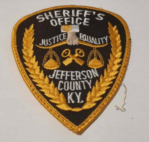 Jefferson County Kentucky KY US Police Patch Vintage