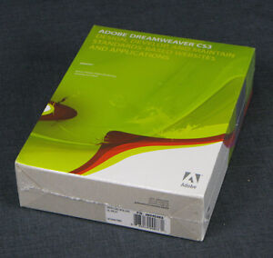 Adobe Dreamweaver CS3 - For Windows -  NIB! - 38040463 - UPGRADE - FREE SHIP!