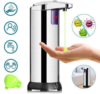 Desinfektionsmittelspender Infrarot Automatik Seifenspender mit Sensor 280ml DE