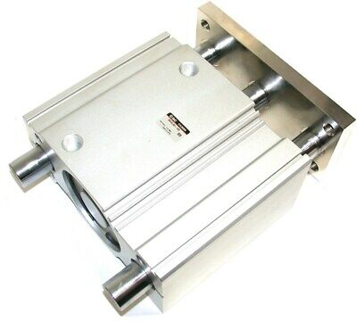 Up To 2 New Smc Linear 4 Stroke Large 80mm Bore Air Slide Cylinder Mgql80-100