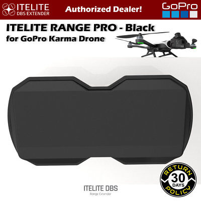 ITELITE DBS Range Extender Antenna RangePro for GoPro Karma Drone - Black