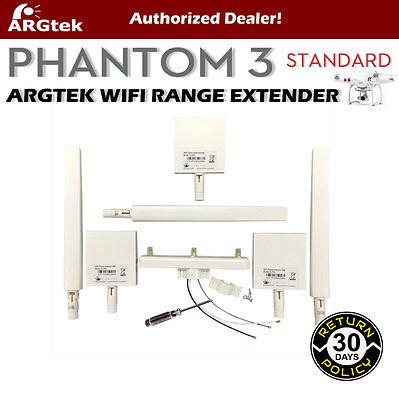 ARGtek DJI Phantom 3 Standard WiFi Signal Range Extender Antennas (6)- Brand New