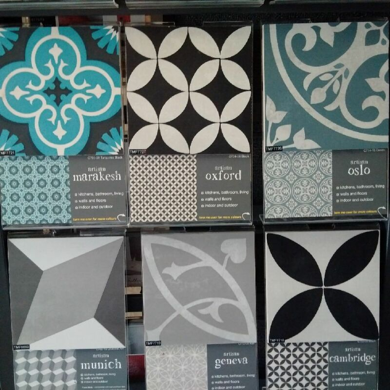 Southern Cross Ceramics Artisan Tiles Series Xmm Sells Per M - Artisan tiles sale