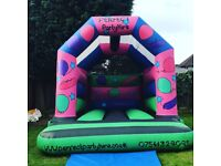 AN AMAZING 12x12FT BOUNCY CASTLE-WITH RAIN COVER AND FAN ONLY £500 NO OFFERS