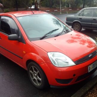 2004 Ford Fiesta Hatchback Automatic Mount Nelson Hobart City Preview