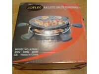 URGENT French raclette grill (brand new!)