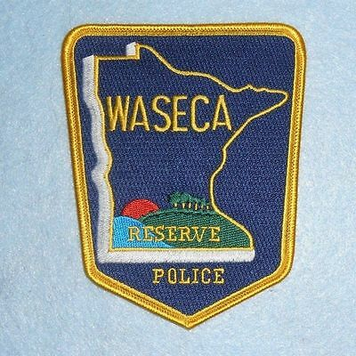 """Waseco Police Reserve Patch - Minnesota - 4"""" x 5"""""""