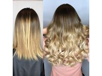 HAIR EXTENSIONS FITTING MODEL OFFERS £250 FOR RUSSIAN MOBILE Micro ring bonded Tape coldfusion £250