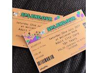 Splendour tickets - Saturday 22 July 2017