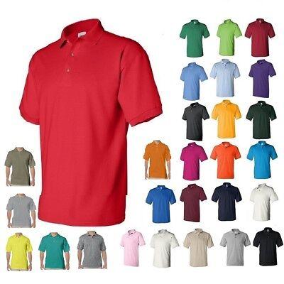 Gildan DryBlend Mens Polo Sport Shirt Jersey T-Shirt 8800 NWOT Size S-5XL