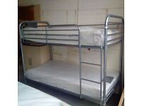 2x3FT Single Metal Bunk Bed Frame