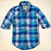 Abercrombie XL Plaid Shirt