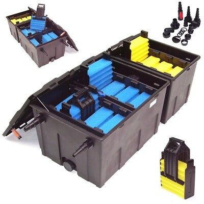 55030 Aussenfilter Bio Teichfilter 89000l Koi Teich Filter Durchlauf Filter