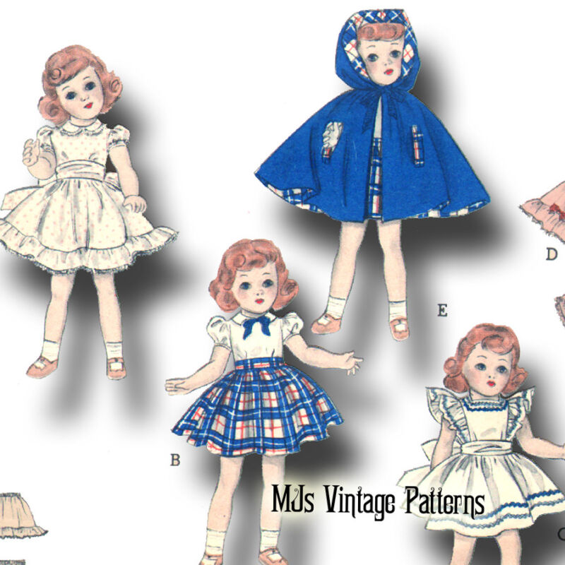 "Sweet Sue Miss Revlon Vintage 1950s Dress Pattern ~ 14/"" 15/"" Toni"