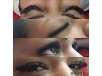 Lashes , eyelash extensions , semi permanent lashes , russian , volume , 6D lashes